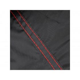 Housse de protection extérieure BIHR compatible bulle haute et Top Case noir taille XL