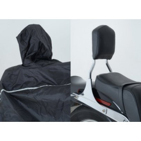 Housse moto R&G RACING Cruiser extérieure noir