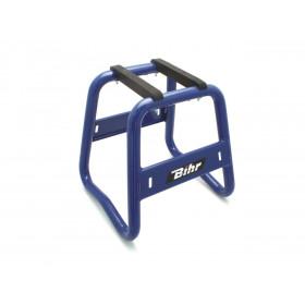 Stand moto BIHR Grand Prix alu bleu