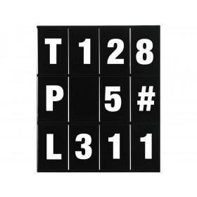 Kit chiffre et lettres LIGHTECH pour panneautage