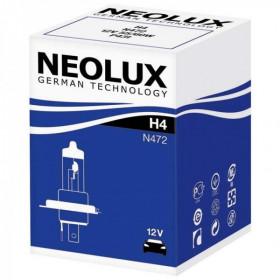 10 ampoules Neolux H4 12V 60/55W
