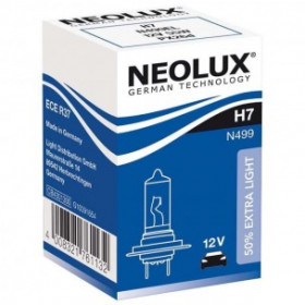 10 ampoules Neolux H7 12V 55W