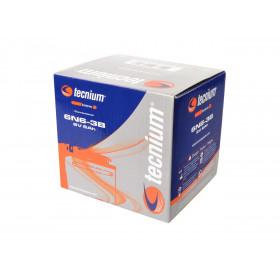 Batterie TECNIUM 6N6-3B conventionnelle livrée avec pack acide