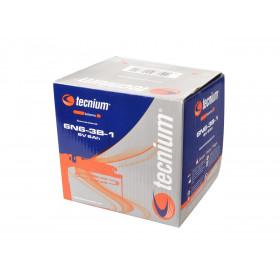 Batterie TECNIUM 6N6-3B-1 conventionnelle livrée avec pack acide
