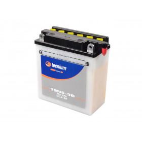 Batterie TECNIUM 12N5.5-3B conventionnelle livrée avec pack acide