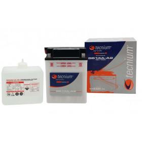 Batterie TECNIUM BB3L-B conventionnelle livrée avec pack acide
