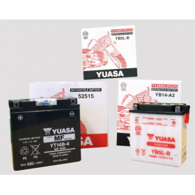Batterie YUASA 6N4C-1B conventionnelle