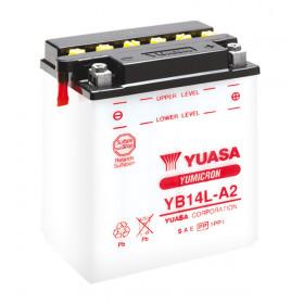 Batterie YUASA 6N2A-2C conventionnelle