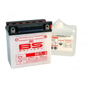 Batterie BS BB7L-B conventionnelle livrée avec pack acide