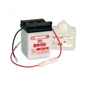 Batterie BS 6N4-2A-4 conventionnelle livrée avec pack acide