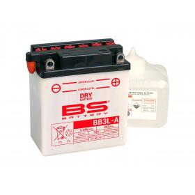 Batterie BS BB3L-A conventionnelle livrée avec pack acide