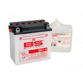 Batterie BS BB7-A conventionnelle livrée avec pack acide