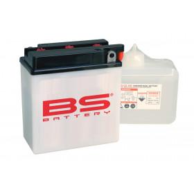Batterie BS 6N12A-2D conventionnelle livrée avec pack acide