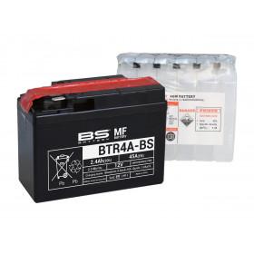 Batterie BS BTR4A-BS sans entretien livrée avec pack acide