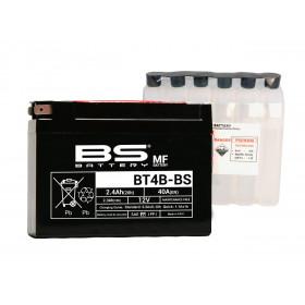 Batterie BS BT4B-BS sans entretien livrée avec pack acide