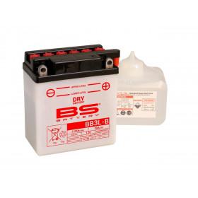 Batterie BS BB3L-B  conventionnelle livrée avec pack acide