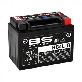 Batterie BS BB4L-B SLA sans entretien activée usine