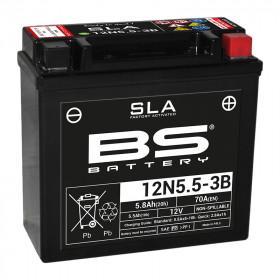 Batterie BS 12N5.5-3B SLA sans entretien activée usine