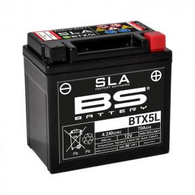 Batterie BS BTX5L SLA sans entretien activée usine