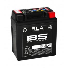 Batterie BS BB3L-B SLA sans entretien activée usine