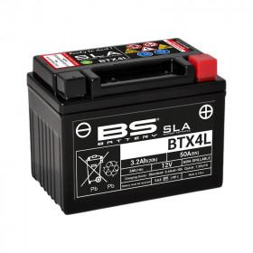 Batterie BS BTX4L SLA sans entretien activée usine