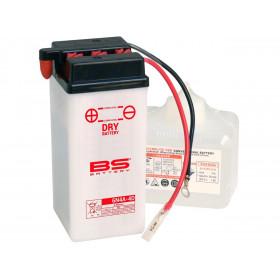 Batterie BS 6N4A-4D conventionnelle livrée avec pack acide