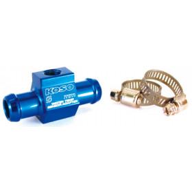 Adaptateur de sonde de température d'eau Koso pour durite Ø16mm