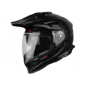 Casque JUST1 J34 Adventure Solid noir brillant taille XL
