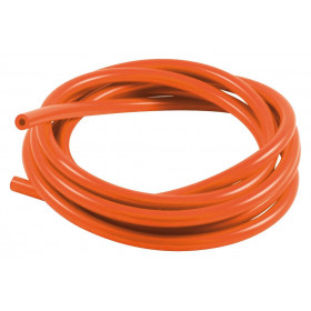 Durite de mise à l'air SAMCO pour carburateur silicone orange 3m - Øint. 3mm/Øext. 7mm