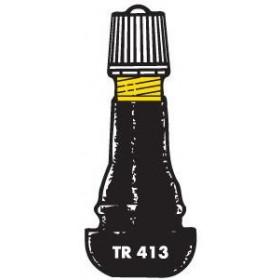 Valve droite BIHR TR413 caoutchouté