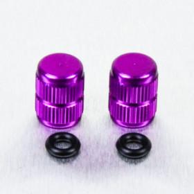 Bouchons de valve Pro-Bolt alu violet par paire