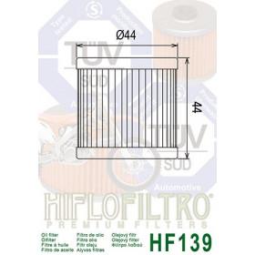 Filtre à huile HIFLOFILTRO HF139