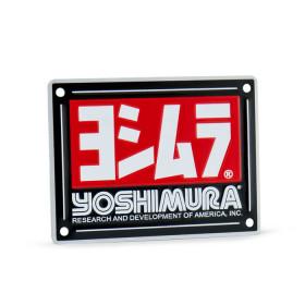 Pièce détachée - Plaque logo YOSHIMURA USA pour silencieux RS-4