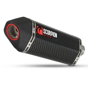 Pièce détachée - Silencieux SCORPION Serket Carbone - 300mm pour 76208740 Kawasaki Z1000