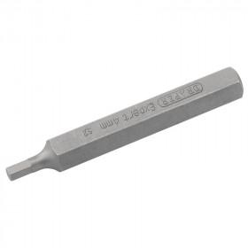 Embout de rechange DRAPER - 6 pans  4mm - longueur 75mm
