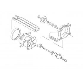 Kit réparation de turbine WSM Kawasaki STX-15F