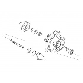 Kit réparation de turbine WSM Kawasaki 1100 Ultra 130