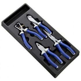 Module d'outils EXPERT 4 pinces mécanicien - plateau plastique