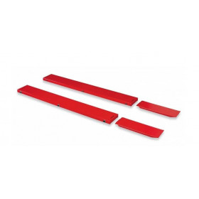 Extensions latérales BIKE LIFT standard rouge 220x30cm pour MAX 516 / ABSOLUTE 756 Gate