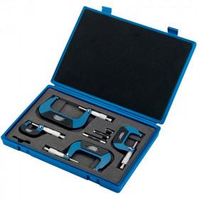 Coffret micromètres mécaniques DRAPER