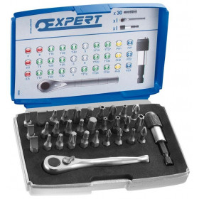 Coffret EXPERT 30 embouts 1/4""