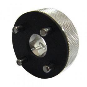 Douille à créneaux JMP pour colonne de direction Øint.23mm/Øext.31mm 4 crans Ducati