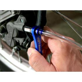 Mini purgeur de frein MOTION PRO 8mm avec clapet anti-retour et durite intégrée