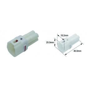 Connectique électrique femelle étanche TOURMAX type 090 (FRS)