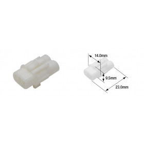 Connectique électrique mâle étanche TOURMAX type 090 (FRS)