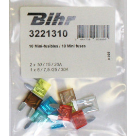 Mini-fusibles BIHR 10pcs