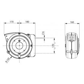 Enrouleur électrique ZECA 15m
