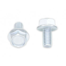 Vis à bride BOLT tête hexagonale 10mm M6x1,00x12mm