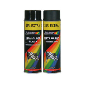 Peinture MOTIP noir mat 500ml