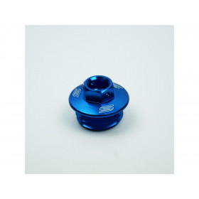 Bouchon carter huile SCAR bleu Husqvarna Sherco
